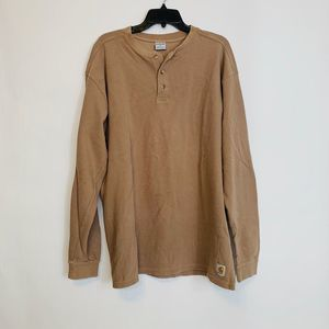 Carhartt Thermal Long Sleeve Mens Top Size L